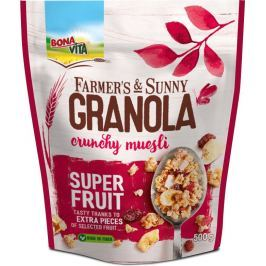 Bonavita müsli Granola super fruit