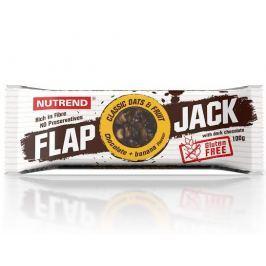 Nutrend Flapjack gluten-free čokoláda+banán s hořkou čokoládou