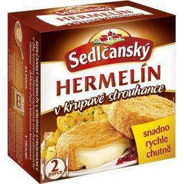 Sedlčanský Hermelín v křupavé strouhance