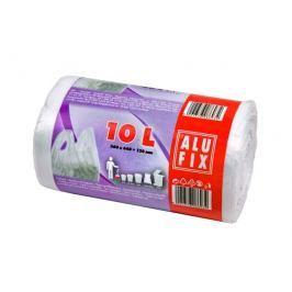 Alufix Pytle na odpadky zavazovací bílé, 10l, 40ks