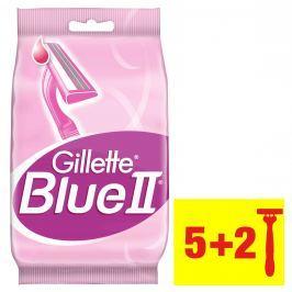 Gillette BlueII Dámská Pohotová Holítka, 5+2ks