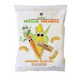 erdbär Freche Freunde BIO Křupky kukuřičné s mrkví