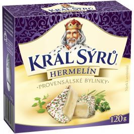Král Sýrů Hermelín Provensálské bylinky
