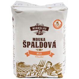 Naše Miroslav Mouka špaldová hladká bílá 1kg