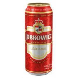 Lobkowicz Premium pivo světlý ležák plech