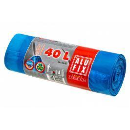 Alufix Pytle na odpadky modré zatahovací 40l, 15ks