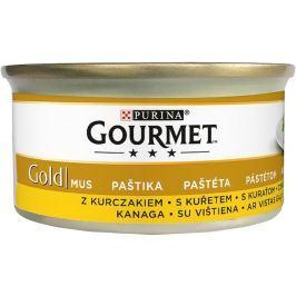 Gourmet Gold Jemná paštika s kuřecím