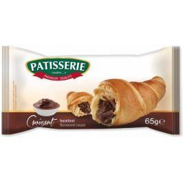 Patisserie Croissant s krémem s lískooříškovou příchutí