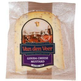 Van den Veer Gouda s hořčičným semínkem 55% - výkroj