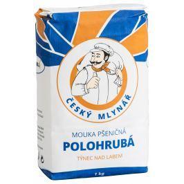 Český Mlynář Mouka pšeničná polohrubá 1kg