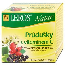 LEROS Natur Průdušky s vitamínem C čaj