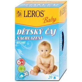 LEROS Baby Dětský čaj Nachlazení