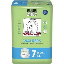 Muumi Baby Walkers plenkové kalhotky Extra Large 16-26kg (velikost 7) 34ks