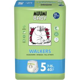Muumi Baby Walkers plenkové kalhotky Maxi+ 7-15kg (velikost 4+) 40ks