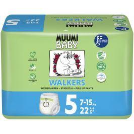 Muumi Baby Walkers plenkové kalhotky Maxi+ 7-15kg (velikost 4+) 22ks