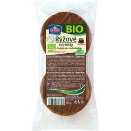 RACIO BIO rýžové s mléčnou čokoládou