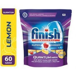 Finish Powerball Quantum Max lemon 60ks tablety do myčky nádobí