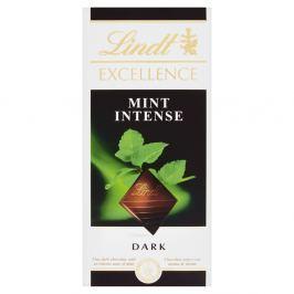 Lindt Excellence Intense Mint hořká čokoláda