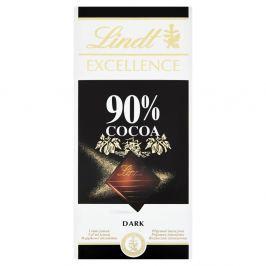 Lindt Excellence hořká čokoláda 90%