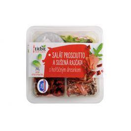 Titbit salát Sušená rajčata & prosciutto s hořčičným dresinkem