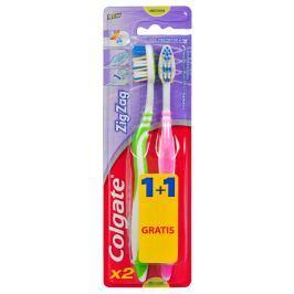 Colgate ZigZag zubní kartáček - střední 2ks
