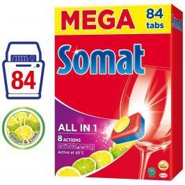 Somat All in 1 Lemon & Lime tablety do myčky 84ks