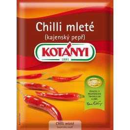 Kotányi Chilli papričky mleté - cayenský pepř