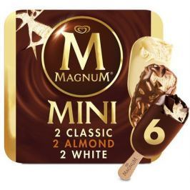 Magnum Mini Classic Almond White 6x55ml