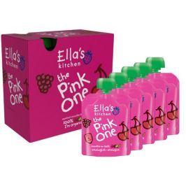 Ella's Kitchen Ovocné pyré - Pink One (Třešeň) PACK 5ks