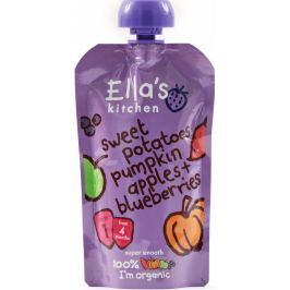 Ella's Kitchen kapsička sladké brambory,dýně, jablko a borůvky