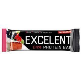 Nutrend EXCELENT protein bar, černý rybíz s brusinkami
