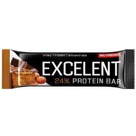 Nutrend EXCELENT protein bar,  čokoláda s oříšky