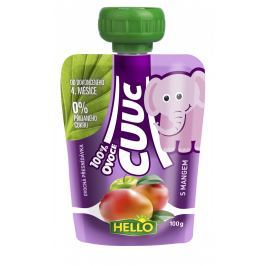 Hello Cuuc 100% ovocná přesnídávka s mangem