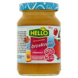 Hello Ovocná přesnídávka s broskvemi a vitaminem C