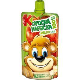 Kubík 100% ovocná kapsička jablko-banán