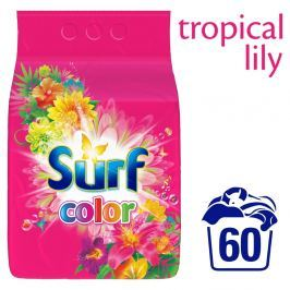 Surf Color Tropical prací prášek (3,9kg)