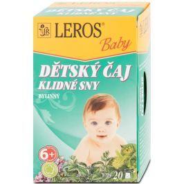 LEROS Baby Dětský čaj Klidné sny