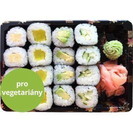 Wasabi Sushi Sushi Box 8 - 4ks Kappa maki, 4ks Avokádo maki, 4ks Tamago maki
