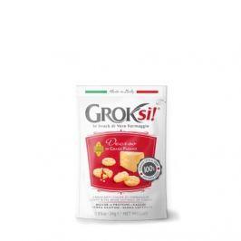 GROKsi! Deciso křupavý snack z extra zralého italského sýru