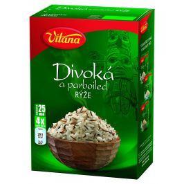 Vitana Divoká a Parboiled rýže ve varných sáčcích