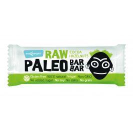 MAX SPORT NUTRITION RAW PALEO BAR BAR tyčinka lískový oříšek kakao