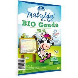 Matylda Bio Gouda 48% plátky