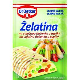 Dr.Oetker Želatina na vaječnou tlačenku a aspiky