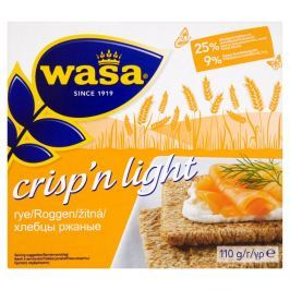 Wasa Crisp'n Light Žitný knackebrot