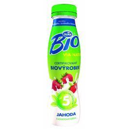 Olma BIO jogurtový nápoj jahodový