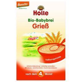 Holle Bio krupičná kaše od 4. měsíce věku