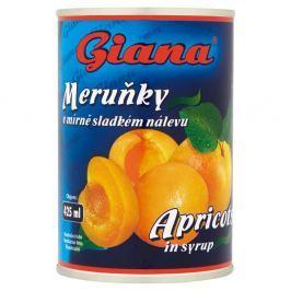 Giana Meruňky v mírně sladkém nálevu