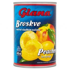 Giana Broskve v mírně sladkém nálevu