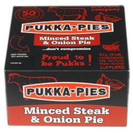 Pukka Pies Steak & Onion Pie - Koláč s kousky hovězího a cibulí