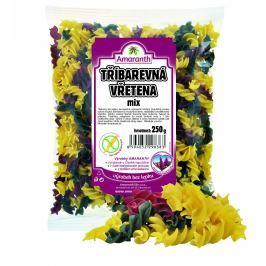 Amaranth Bezlepkové těstoviny – vřetena MIX trojbarevná